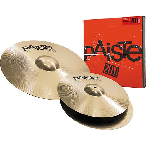 Paiste 201 Bronze Essential Set 14/18-thumbnail