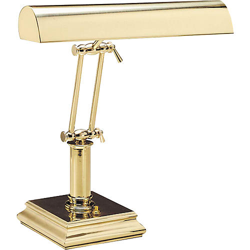 House of Troy #201 Polished Brass Piano Lamp-thumbnail