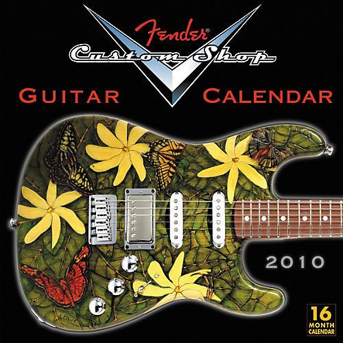 Fender 2010 Custom Shop Wall Calendar
