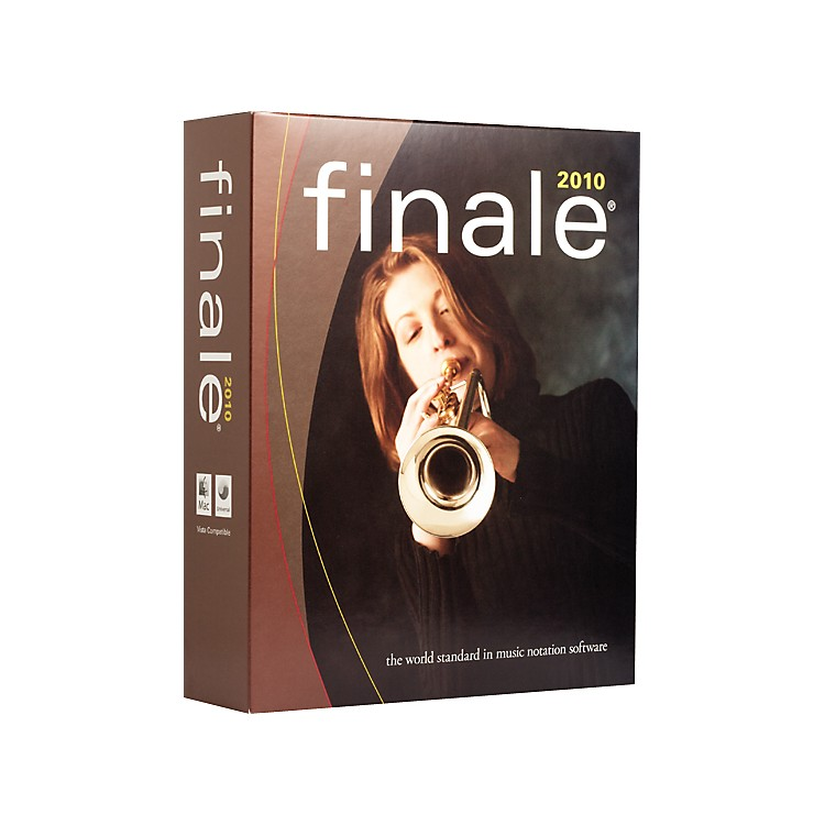 Finale2010 Notation Software