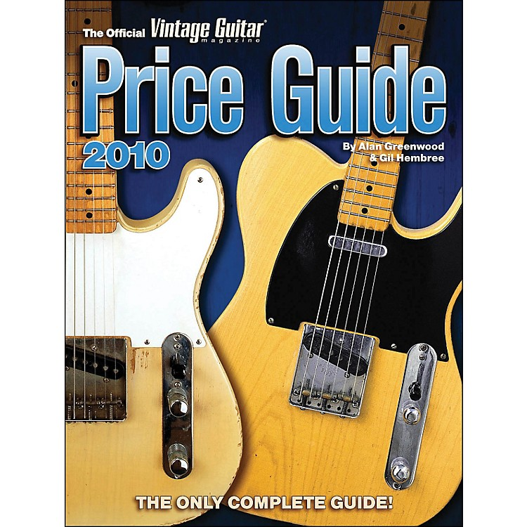 Hal Leonard 2010 Official Vintage Guitar Magazine Price Guide
