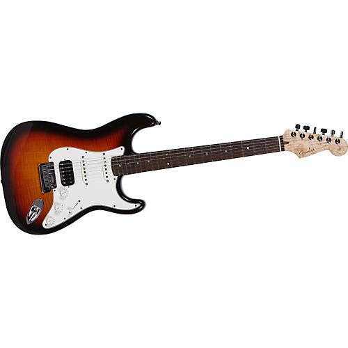 Fender Custom Shop 2011 Custom Deluxe Strat Flame Top Electric Guitar-thumbnail