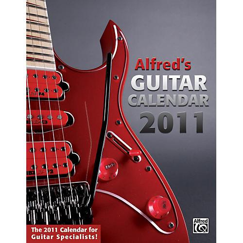 Alfred 2011 Guitar Calendar-thumbnail
