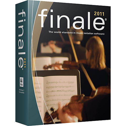 Finale 2011 Notation Software