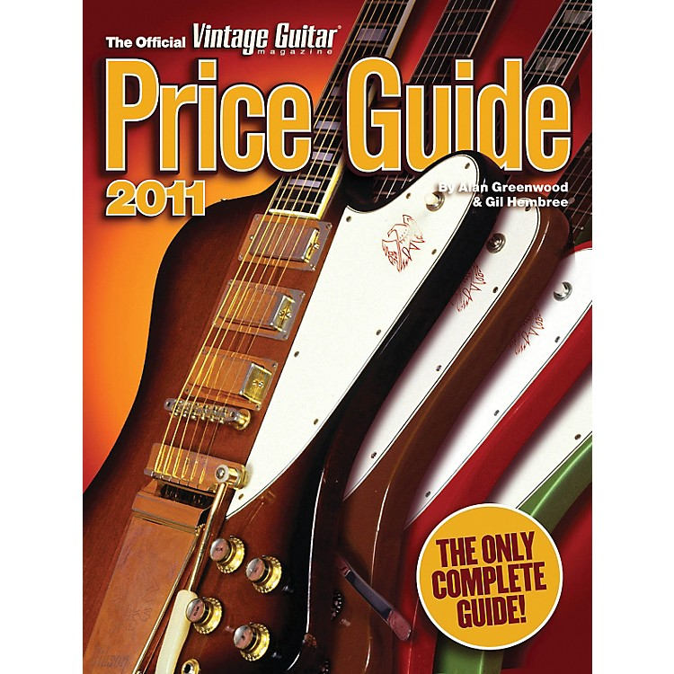 Hal Leonard 2011 Official Vintage Guitar Price Guide