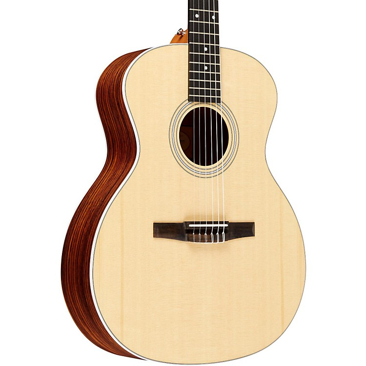 Taylor 2012 214e-N-L Rosewood/Spruce Nylon String Grand Auditorium Left-Handed Acoustic-Electric Guitar