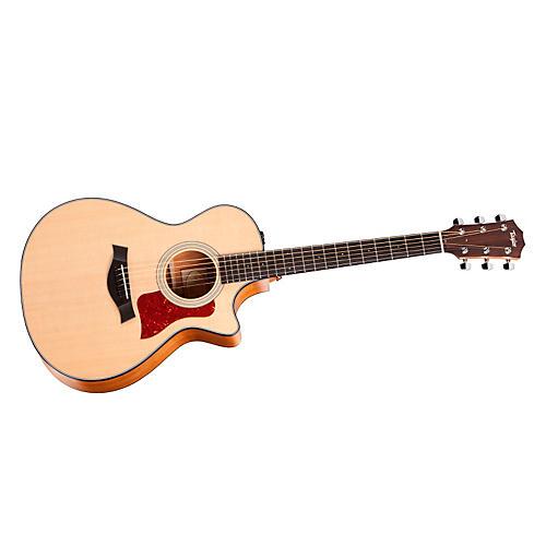 Taylor 2012 312ce-LTD Spring Limited Edition Koa Grand Concert Acoustic-Electric Guitar-thumbnail