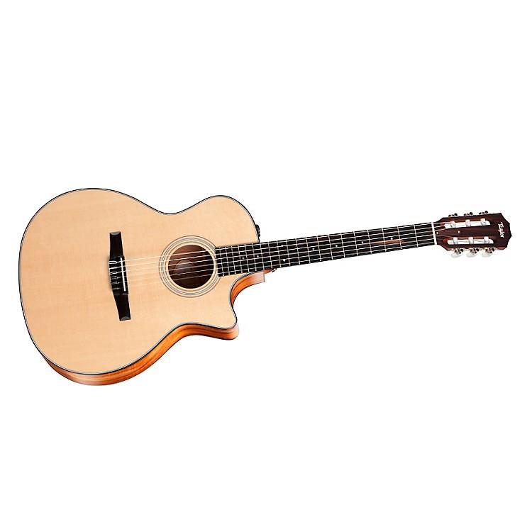 Taylor2012 312ce-N-LTD Spring Limited Edition Koa Grand Concert Acoustic-Electric Nylon Guitar