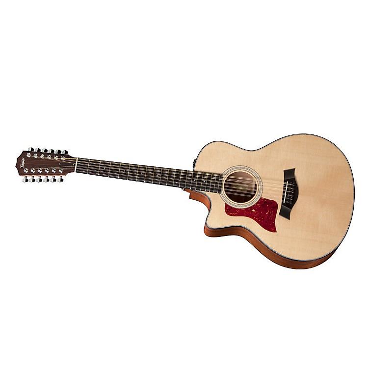 Taylor2012 356ce-L Sapele/Spruce Grand Symphony 12-String Left-Handed Acoustic-Electric Guitar
