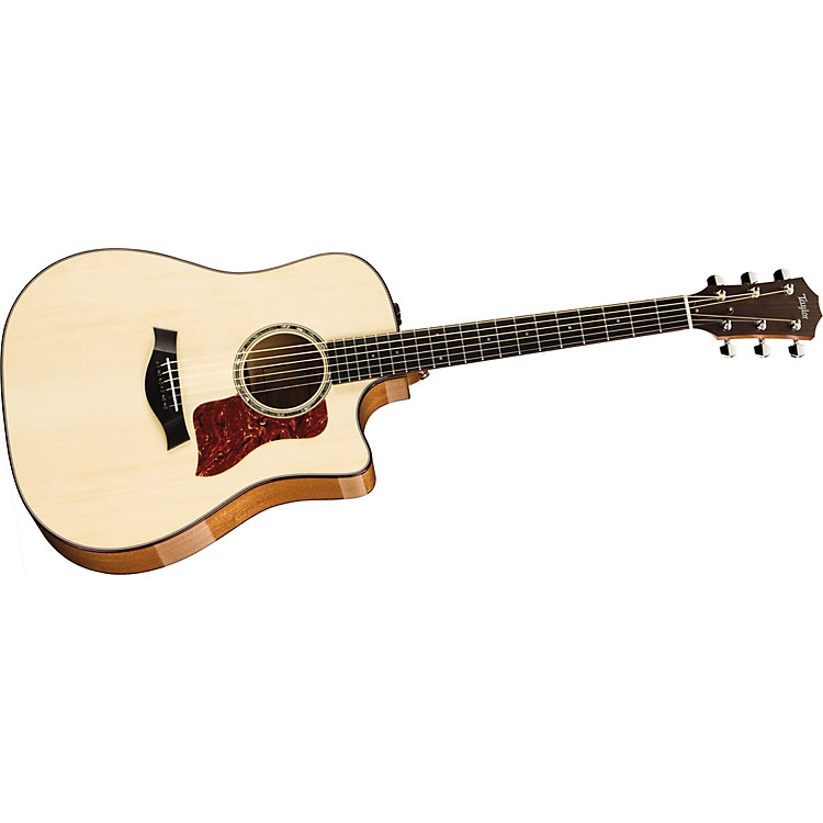 Taylor2012 510ce-L Mahogany/Spruce Dreadnought Left-Handed Acoustic-Electric Guitar