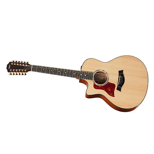 Taylor 2012 556ce-L Mahogany/Spruce Grand Symphony 12-String Left-Handed Acoustic-Electric Guitar-thumbnail