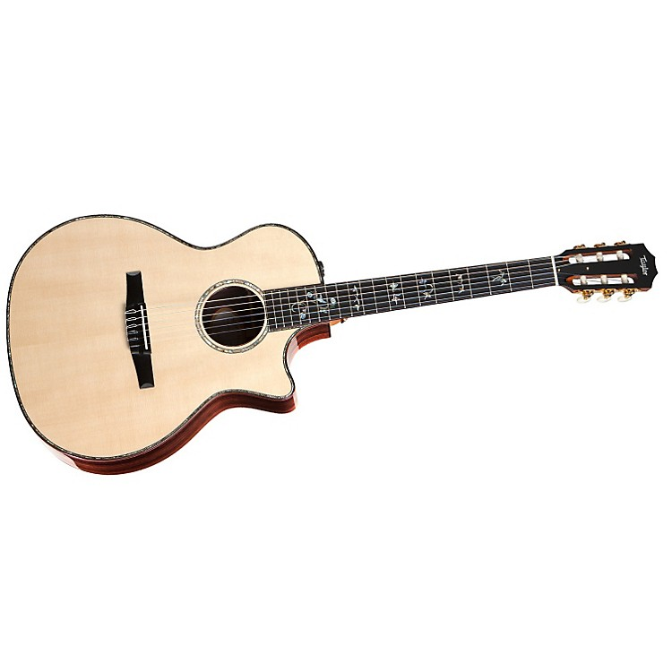 Taylor 2012 914ce-N Rosewood/Spruce Nylon String Grand Auditorium Acoustic-Electric Guitar