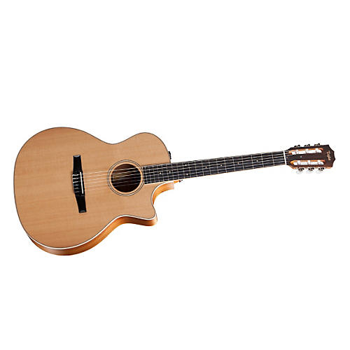 Taylor 2012 Fall Limited 414ce-N-FLTD Grand Auditorium Nylon String Acoustic-Electric Guitar-thumbnail