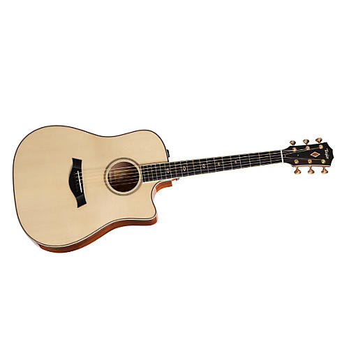 Taylor 2012 Fall Limited DNce-FLTD Dreadnought Quilt Sapele Acoustic-Electric Guitar-thumbnail