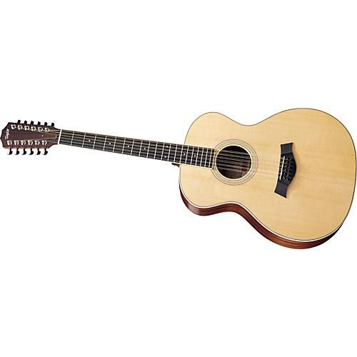 taylor 2012 ga3 12 l sapele spruce grand auditorium 12 string left handed acoustic guitar. Black Bedroom Furniture Sets. Home Design Ideas