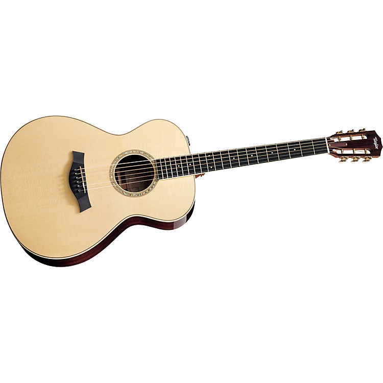 Taylor 2012 GA4e-12-L Ovangkol/Spruce Grand Auditorium 12-String Left-Handed Acoustic-Electric Guitar