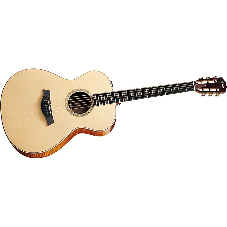 Taylor 2012 GA4e-L Ovangkol/Spruce Grand Auditorium Left-Handed Acoustic-Electric Guitar
