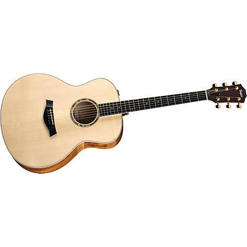 Taylor 2012 GA7-L Rosewood/Cedar Grand Auditorium Left-Handed Acoustic Guitar-thumbnail