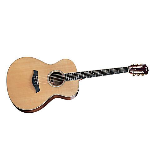 Taylor 2012 GC7 Rosewood/Cedar Grand Concert 6-String Acoustic Guitar-thumbnail