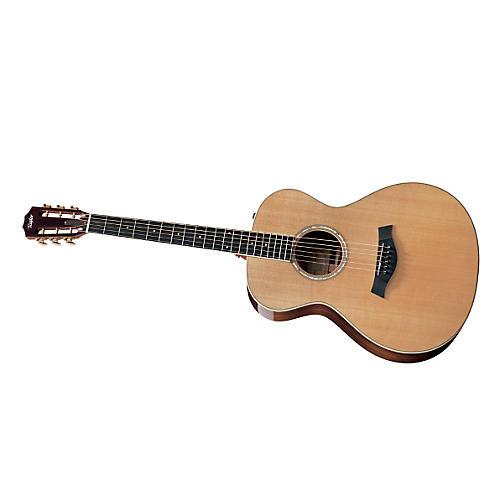 Taylor 2012 GC7e-L Rosewood/Cedar Grand Concert Left-Handed Acoustic-Electric Guitar-thumbnail