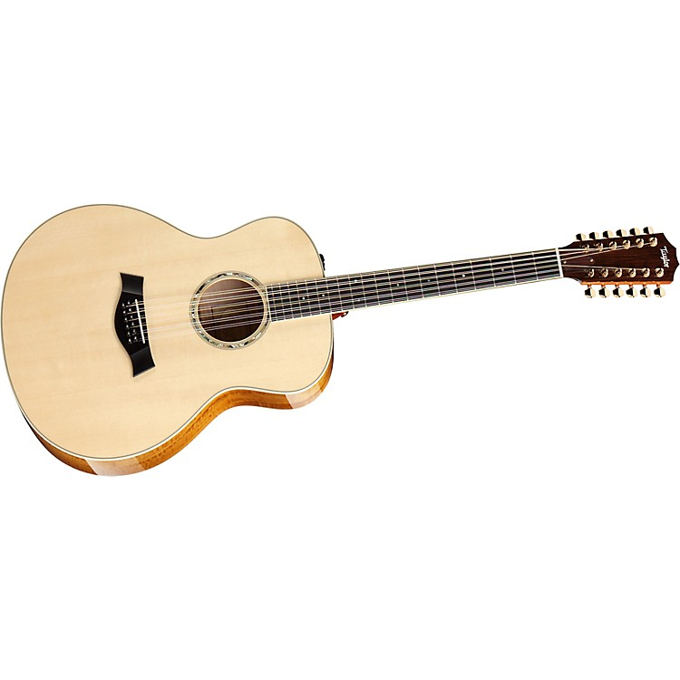 Taylor2012 GS6e-12-L Maple/Spruce Grand Symphony 12-String Left-Handed Acoustic-Electric Guitar