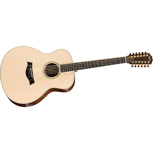 Taylor 2012 GS8-12-L Rosewood/Spruce Grand Symphony 12-String Left-Handed Acoustic Guitar-thumbnail