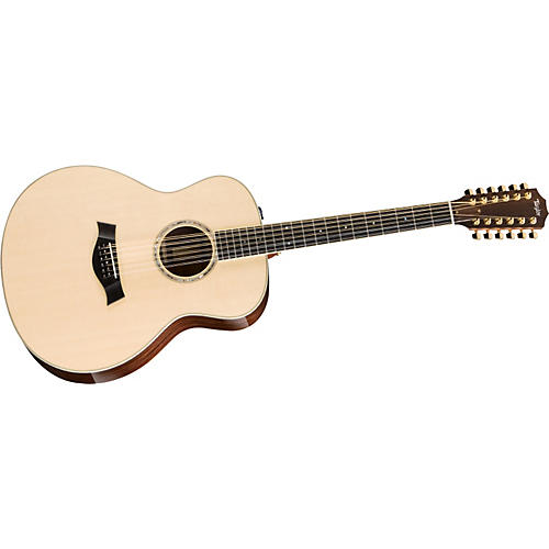 Taylor 2012 GS8e-12-L Rosewood/Spruce Grand Symphony 12-String Left-Handed Acoustic-Electric Guitar