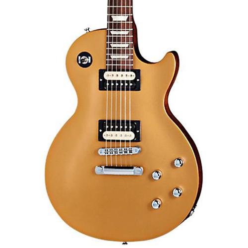 Gibson 2013 Les Paul Future Tribute Electric Guitar Gold Top, Black Back
