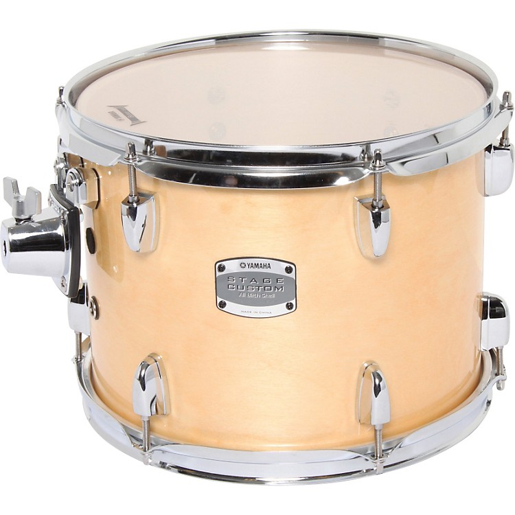 Yamaha 2013 Stage Custom Birch Add-On Tom 12 X 9 Natural Wood