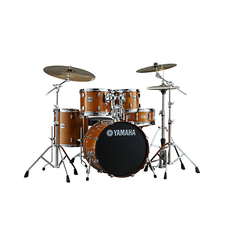 Yamaha 2013 stage custom birch 5 piece drum set with 22 for Yamaha dtx450k 5 piece electronic drum kit