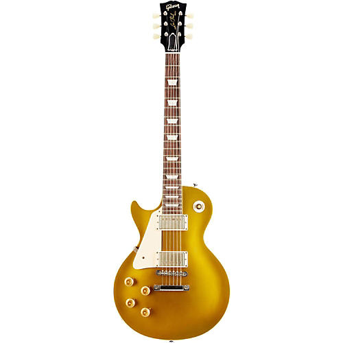 Gibson Custom 2014 1957 Les Paul Goldtop Darkback VOS Left-Handed Electric Guitar
