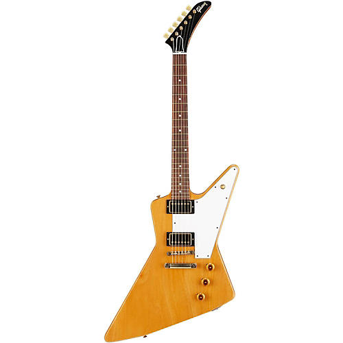 Gibson Custom 2014 1958 Mahogany Explorer Lightly Aged Electric Guitarl-thumbnail