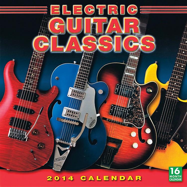 Hal Leonard2014 Electric Guitar Classics 16-Month Wall Calendar