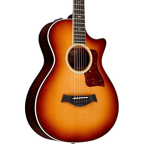 Taylor 2014 Fall Limited 512ce-FLTD Grand Concert 12-Fret Venetian Cutaway Acoustic-Electric Guitar-thumbnail