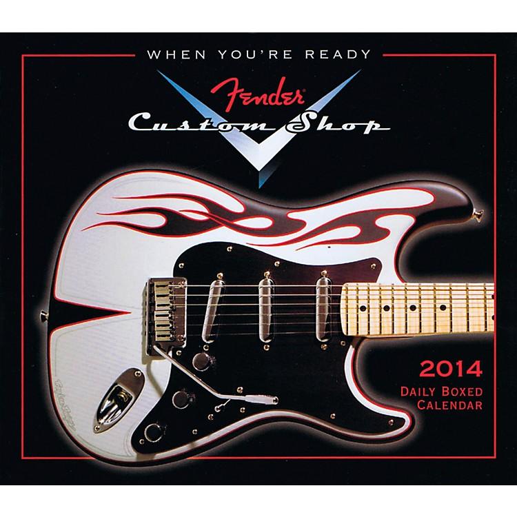 Hal Leonard2014 Fender Custom Shop Daily Boxed Calendar