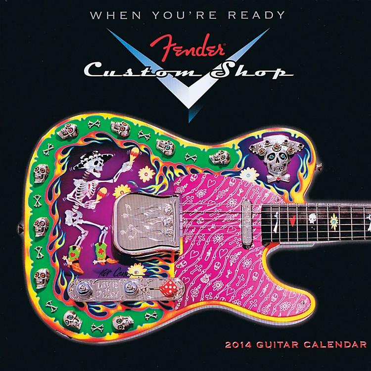 Hal Leonard2014 Fender Custom Shop Mini Wall Calendar