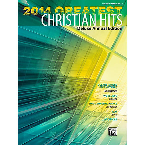 Alfred 2014 Greatest Christian Hits P/V/C Book-thumbnail