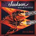 Hal Leonard 2014 Jackson Heavy Metal Guitars Wall Calendar  Thumbnail