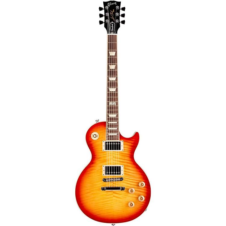 Gibson2014 Les Paul Standard Plus Electric GuitarHeritage Cherry Sunburst Perimeter