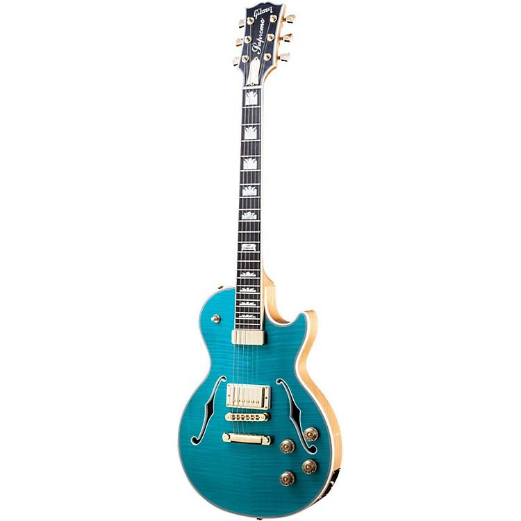 Gibson2014 Les Paul Supreme Electric GuitarOcean Water Perimeter