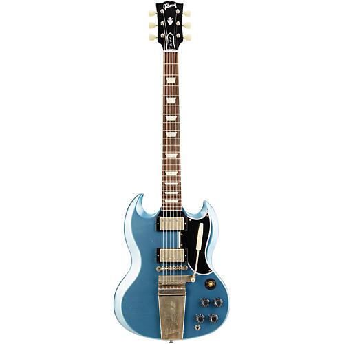 Gibson Custom 2014 SG Standard Reissue with Maestro Vibrola Electric Guitar Pelham Blue