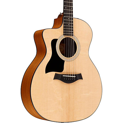 Taylor 2015 114ce-LH Left-Handed Dreadnought Acoustic-Electric Guitar Natural