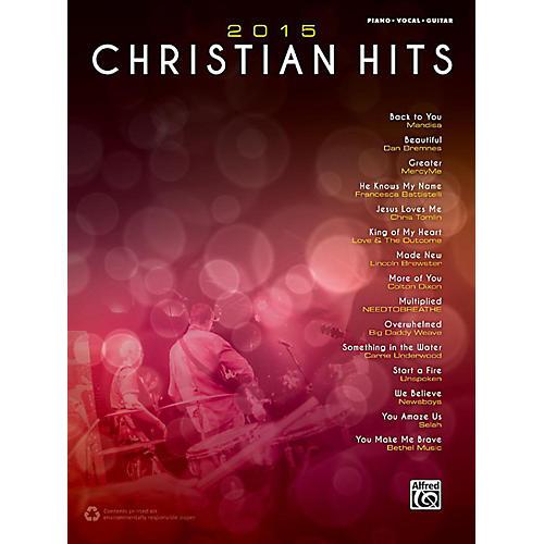 Alfred 2015 Christian Hits - Piano/Vocal/Guitar Songbook-thumbnail