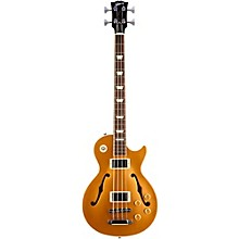 Gibson 2015 ES-Les Paul Semi-Hollow Electric Bass Guitar Gold Top