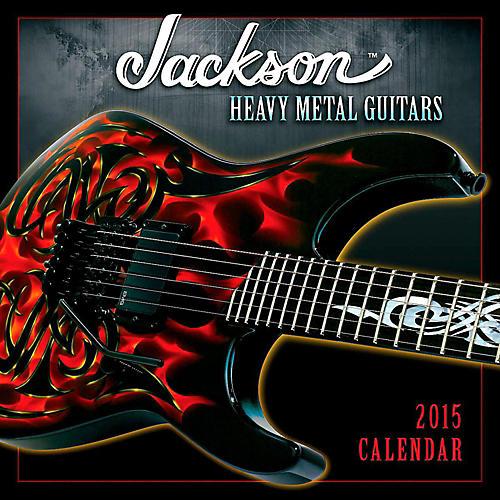 Hal Leonard 2015 Jackson Heavy Metal Guitars 12 Month Wall Calendar-thumbnail