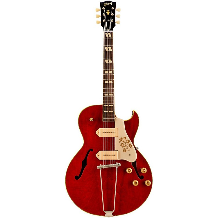 gibson 2015 memphis limited run 1952 es 295 vos hollow body electric guitar sixties cherry. Black Bedroom Furniture Sets. Home Design Ideas