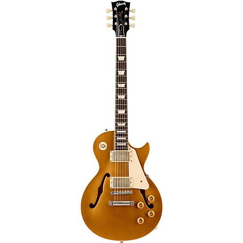 Gibson 2015 Memphis Limited Run ES-Les Paul VOS Semi-Hollow Electric Guitar Gold Top