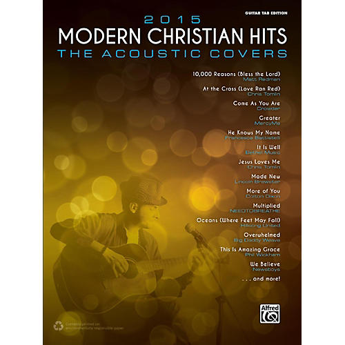 Modern Book Cover Guitar : Alfred modern christian hits the acoustic covers
