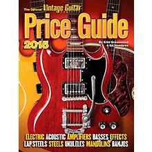 Hal Leonard 2015 Official Vintage Guitar Magazine Price Guide