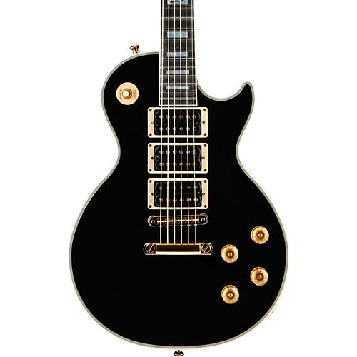Gibson Custom 2015 Peter Frampton Les Paul Custom Ebony Gold Hardware